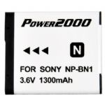 NP-BN1 Extended Life Battery Pack for DSC-TX5/ TX9/ W330/ W350/ WX9 Cameras