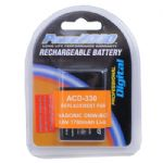 ACD-330 Extended Life Time Rechargeable Battery FOR DMC-LX5