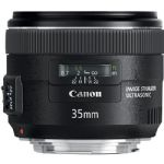 Canon EF 35mm f/2 IS USM Wide-Angle Lens - Black