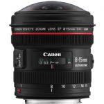 EF 8-15mm f/4L Fisheye USM Ultra-Wide Zoom Lens
