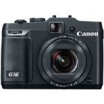 PowerShot G16 Point-and-Shoot Camera Bonus Kit 1