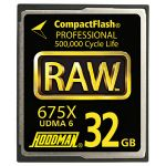 RAW6CF32GB     RAW 32GB CompactFlash Card 675X