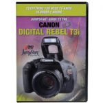 DVD Video Training Guide For Canon EOS Rebel T3i Digital Camera