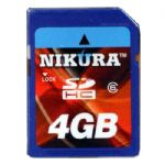 4GB Ultra High Speed Premium SDHC Memory Card - Class 6