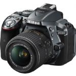 Nikon D5300 DSLR Camera with 18-55mm VR Lens - Gray