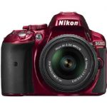 D5300 DSLR Camera with 18-55mm VR Lens - Red