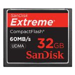 32GB Extreme Compact Flash Card (60MB/s)