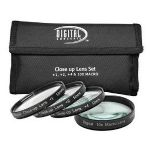 +1 +2 +4 +10 Close-Up Macro Filter Set with Pouch (58mm)