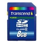8GB HC Secure Digital Memory Card