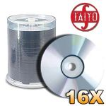 4.7GB 16X DVD-R Thermal Printable Media  (600 Discs) (6 x 100)