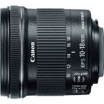 Canon 9519B002 EF-S 10-18mm f/4.5-5.6 IS STM Lens