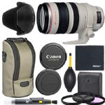 Canon EF 28-300mm f/3.5-5.6L is USM Lens (9322A002) + AOM Pro Bundle - International Version