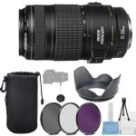 Canon EF 70-300mm f/4-5.6 IS USM Telephoto Zoom Lens + More
