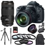 Canon EOS 5D Mark III With 24-105mm Lens 70-300mm 128GB Tripod
