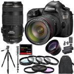 Canon EOS 5DS W/ 24-70mm f/2.8+ 70-300mm + 128GB CF + Pro Combo