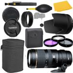 Tamron 70-200mm f/2.8 Di Zoom Lens for Canon Cameras + MORE