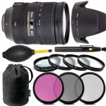 Nikon AF-S NIKKOR 28-300mm f/3.5-5.6G ED VR Lens With 7 Filters