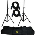 PMDK101 Heavy-Duty Pro Audio Speaker Stand & Speakon Cable Kit