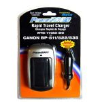 RTC111 Rapid travel charger for BP-511/512/522/535